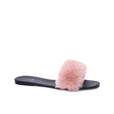 チャイニーズランドリー サンダル シューズ レディース Women's Midnight Fur Slide Pink