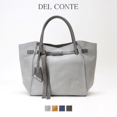 【送料無料】 DELCONTE デルコンテ イタリア イタリアバッグ 本革 ショルダー トート 2way 正規品 リボン 大容量 高級感 上質 上品 6005