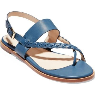 コールハーン COLE HAAN レディース サンダル・ミュール シューズ・靴 Anica Sandal Vintage Indigo Leather