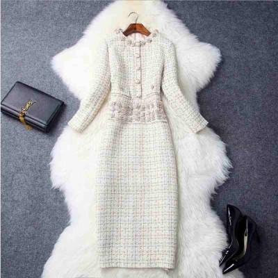 ツイードドレス