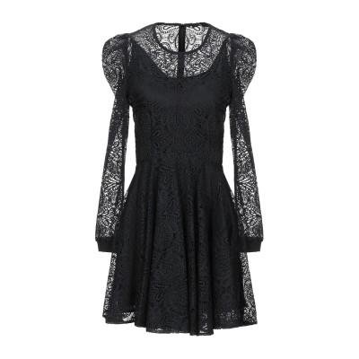 MAJE ミニワンピース&ドレス ブラック 1 ポリエステル 100% / ポリウレタン / ナイロン ミニワンピース&ドレス