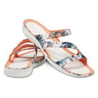 スウィフトウォーター タイダイ マニア サンダル ウィメン [サイズ:W7(23cm)] #206473-82X靴