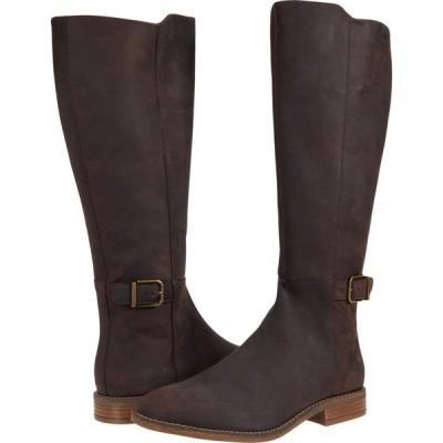 クラークス Clarks レディース シューズ・靴 Camzin Branch Dark Brown Leather