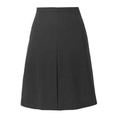 セオリー THEORY ひざ丈スカート 鉛色 12 ウール 96% / ポリウレタン 4% ひざ丈スカート