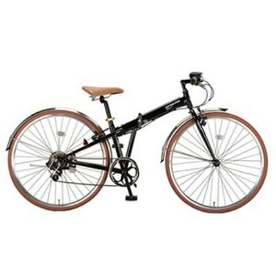 キャプテンスタッグ 折りたたみ自転車 ブラッシュアップFDB7007BAA 折りたたみ700C自転車  700C  ブラック