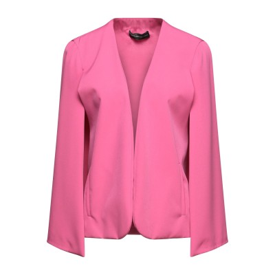 アレッサンドロデラクア ALESSANDRO DELL'ACQUA テーラードジャケット ピンク 40 ポリエステル 90% / ポリウレタン 10