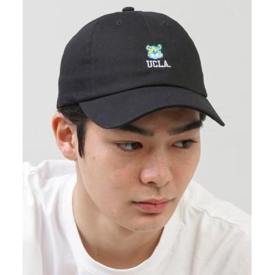 SPINNS / 【UCLA】ロゴ刺繍ローキャップ MEN 帽子 > キャップ
