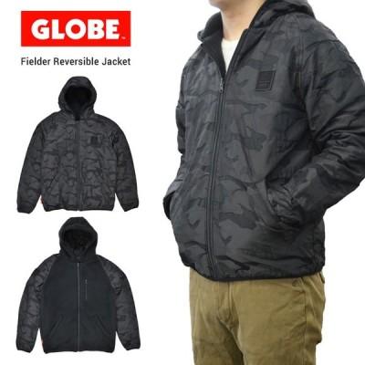 GLOBE グローブ FIELDER REVERSIBLE JACKET ナイロンジャケット フリースジャケット ボアジャケット リバーシブル GB01937015 バーゲン