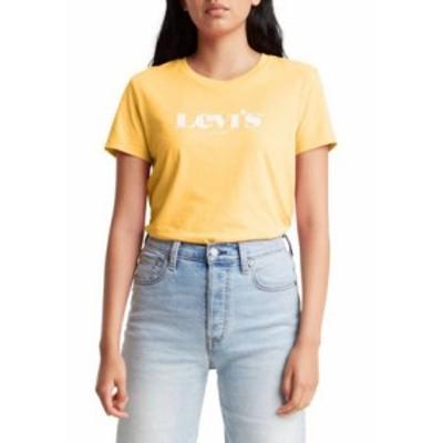 リーバイス レディース Tシャツ トップス Logo Perfect T-Shirt Kumquat