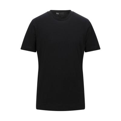 ワイスリー Y-3 T シャツ ブラック S コットン 100% T シャツ