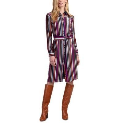 トリーナターク ワンピース トップス レディース Lamarr Striped Satin Shirtdress Multi