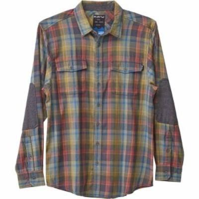カブー KAVU メンズ シャツ トップス Brasstown Shirt Ozone Grey
