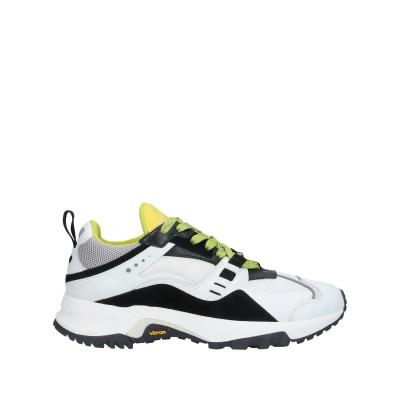 マルセロ ブロン MARCELO BURLON スニーカー&テニスシューズ(ローカット) ホワイト 43 革 / 紡績繊維 スニーカー&テニスシュー