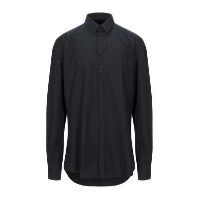 ドルチェ & ガッバーナ DOLCE & GABBANA シャツ ブラック 39 コットン 100% シャツ