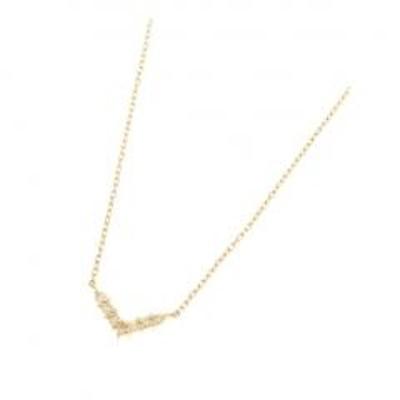 COCOSHNIKK18ダイヤモンド Vネックレス