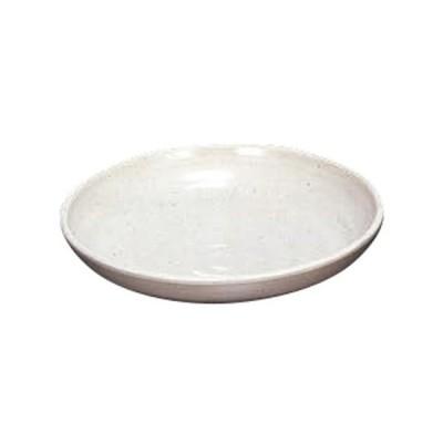 和食器 中皿 / 23cm多用皿 粉引 K-JW-30 寸法: 23φ x 4.7cm