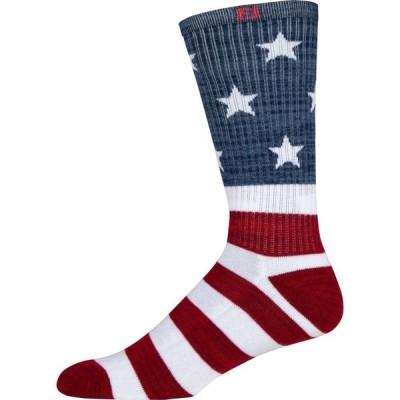 フットジョイ FootJoy メンズ ゴルフ Footjoy ProDry Patriotic Crew Golf Socks Patriotic