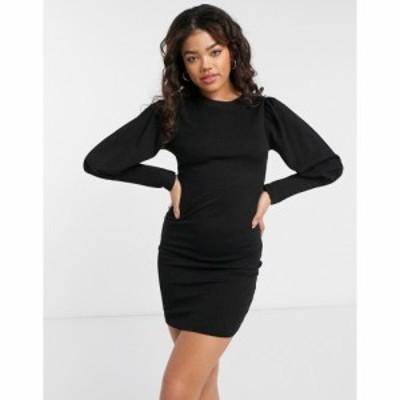 ジェイディーワイ JDY レディース ワンピース ミニ丈 ワンピース・ドレス Jersey Mini Dress In Black ブラック