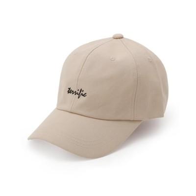 SHOO・LA・RUE / terrific ロゴキャップ WOMEN 帽子 > キャップ