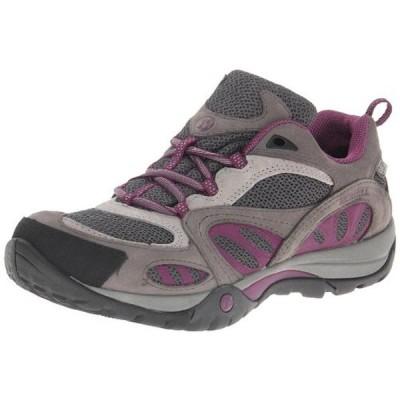 メレル アスレチック シューズ 靴 Merrell 1610 レディース Azura グレー レザー Hiking, Trail シューズ 9 ミディアム (B,M) BHFO