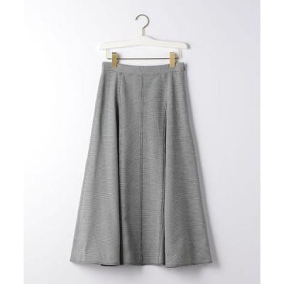 スカート 【EMMEL REFINES】【手洗可能】 HW マチツキ フレアスカート