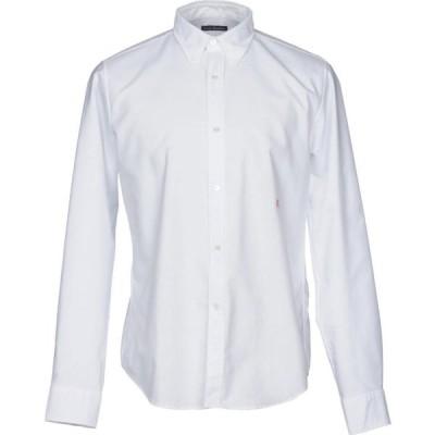 アクネ ストゥディオズ ACNE STUDIOS メンズ シャツ トップス Solid Color Shirt White
