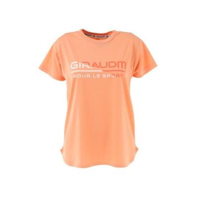 ジローム(GIRAUDM) Tシャツ レディース 半袖 ドライ 吸汗速乾 UVカット メッシュシャツ 864GM1CD6678 ORG (レディース)