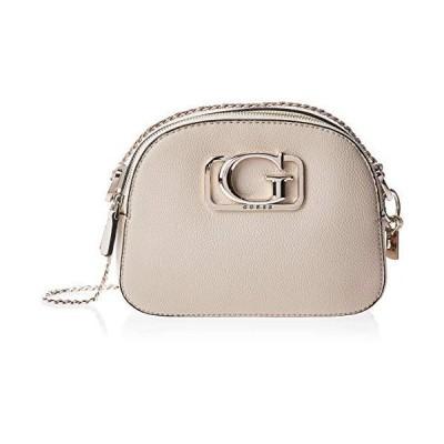 Guess Women's Annarita Convertible Crossbody Messenger Bag, Multicolour (Taupe Multi), 8x16x22 Centimeters (W x H x L) 22x16x8 cm 並行輸入品