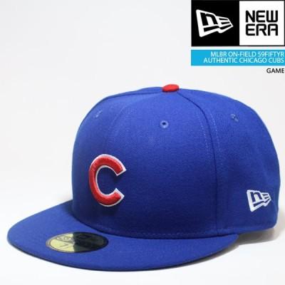 ニューエラ 帽子 キャップ NEWERA ON-FIELD 59FIFTY CHICAGO CUBS GAME オーセンティック シカゴ カブス[ZRC]