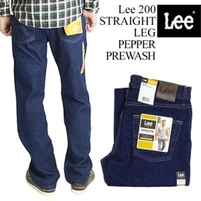 リー Lee #200 ストレート ジーンズ ペッパープリウォッシュ (STRAIGHT LEG JEAN PEPPER PREWASH)