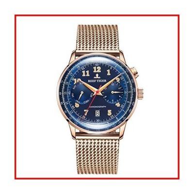 REEF TIGER[リーフ タイガー] 腕時計 アナログ表示 自動巻き RGA9122-PLP メンズ