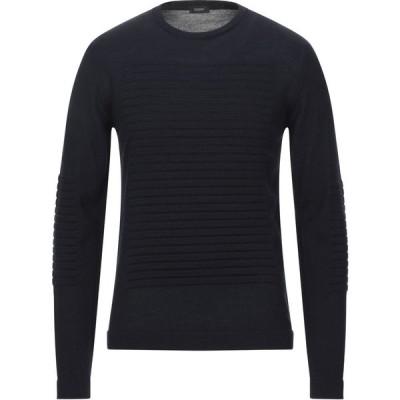 ヨーン YOON メンズ ニット・セーター トップス sweater Dark blue