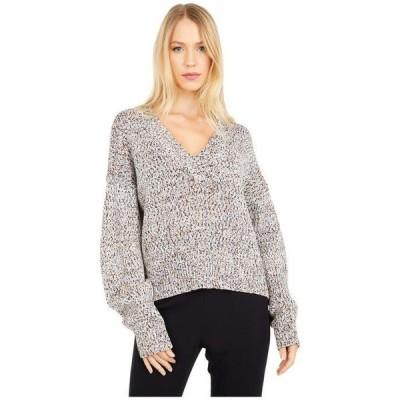 ジェイソンウー レディース ニット・セーター アウター Multicolor V-Neck Sweater