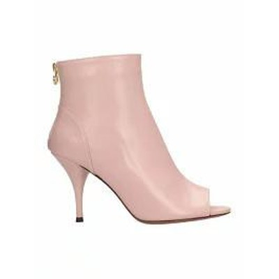 LAutre Chose レディースシューズ LAutre Chose Pink Leather Ankle Boots rose-pink