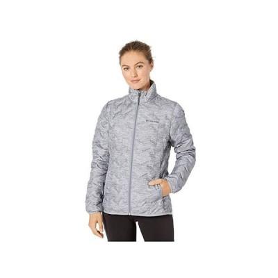 コロンビア Delta Ridge Down Jacket レディース コート アウター Tradewinds Grey/Heather Print