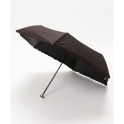 Lbc with Life / 晴雨兼用 折りたたみ傘 ラメピンドット WOMEN ファッション雑貨 > 折りたたみ傘