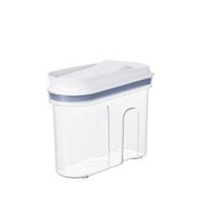 OXO オクソー 保存容器 マルチディスペンサー 700ml 小( プラスチック ストッカー 透明 プラスチック製保存容器 プラスチック保存容器 プラスチック容器 保存 容器 ワンプッシュ開閉 スリム 乾物ストッカー )