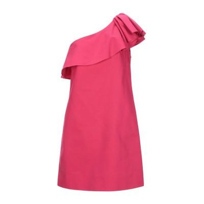 タラ ジャーモン TARA JARMON ミニワンピース&ドレス フューシャ 38 コットン 100% ミニワンピース&ドレス