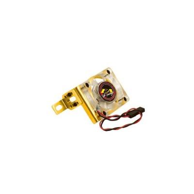 イーグル(EAGLE)/3450-GO/アジャスタブル・クーリングファンスタンド[ゴールド](30x30x6.5mmファン付)7.2V