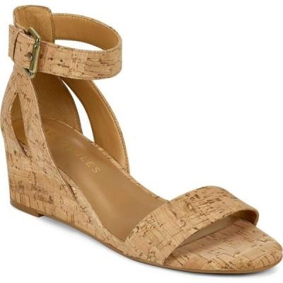 エアロソールズ Aerosoles レディース サンダル・ミュール ウェッジソール シューズ・靴 Willowbrook Wedge Sandals Cork Combo