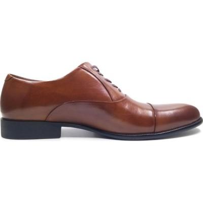 ケネス コール Kenneth Cole New York メンズ 革靴・ビジネスシューズ シューズ・靴 CHIEF COUNCIL - Leather Oxford Cognac