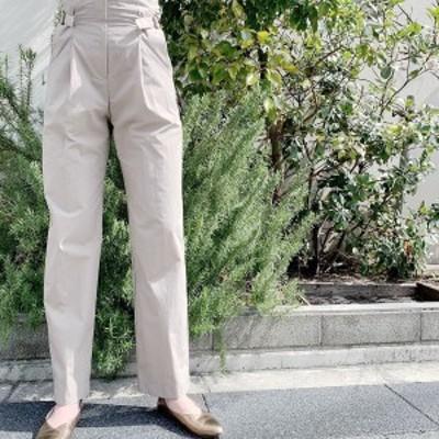 DAZZLE ダズル Highwaist Side Belt Pants ハイウエストサイドベルトパンツ 0S34001J ZURI【2020】【SS】【2020春夏】【入荷】