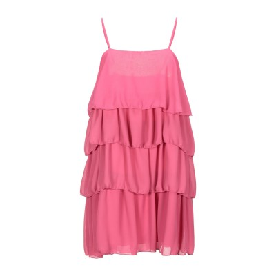 VICOLO ミニワンピース&ドレス フューシャ M ポリエステル 100% ミニワンピース&ドレス
