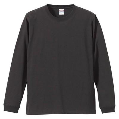 5.6オンス ロングスリーブTシャツ(1.6インチリブ)  UnitedAthle ユナイテッドアスレ カジュアルナガソデTシャツ (501101C-165)