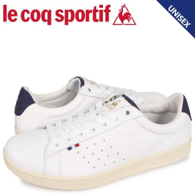 ルコック スポルティフ le coq sportif LA ローラン スニーカー メンズ レディース LA ROLAND LE+2 ホワイト 白 QL1NJC06WN