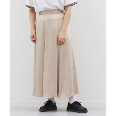 スカート 【kutir closet】ヴィンテージサテンマーメイドスカート