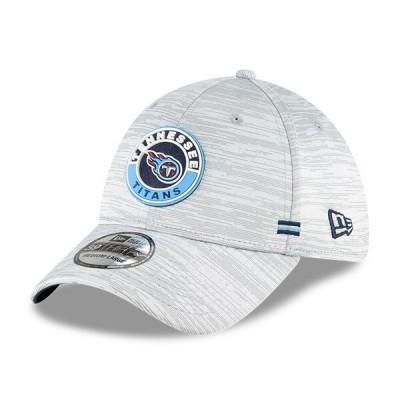 タイタンズ キャップ 帽子 NFL ニューエラ New Era グレー 2020 NFL サイドライン 39THIRTY メンズ