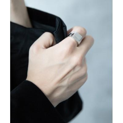 指輪 スクエアインダイリング(HARE)