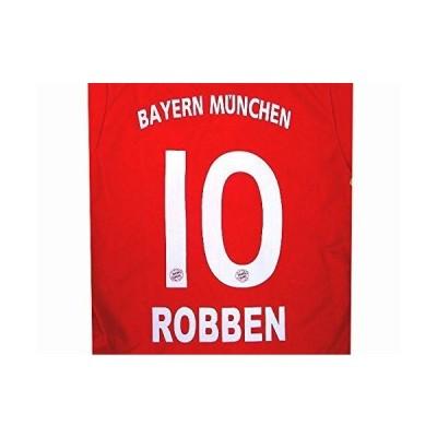 子供用 K022 バイエルンHOME ROBBEN*10 ロッベン 赤襟 17 ゲームシャツ パンツ付