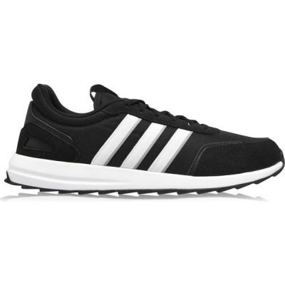 アディダス adidas メンズ ランニング・ウォーキング シューズ・靴 Adidas Retrorunner Classic Trainers Blk/Wht/Grey